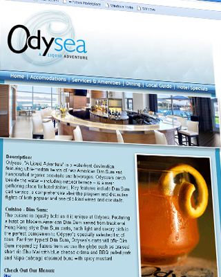 Odysea Landing Page